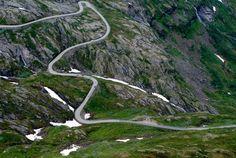 The Mountain Road - , More og Romsdal