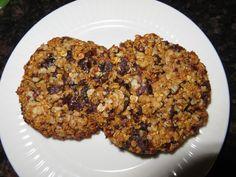 Anita's potjes en pannen: Muesli koekjes, 2 varianten. Gluten/ tarwe- en zuivelvrij. met eivervanger kan ook