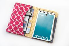How-To: Organizer Wallet #sewing #organizer #wallet