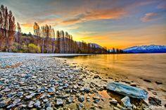 Lago Wanoka,Otongo,Nueva Zelanda