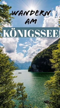 Der Königssee ist ein wunderschöner Ort in Bayern. Hier gibt sehr viele Wander… The Königssee is a beautiful place in Bavaria. There are many hiking trails – one of the most famous is the Malerwinkel Rundwanderweg! Romantic Vacations, Romantic Getaway, Romantic Travel, Places To Travel, Places To See, Honeymoon Destinations, Hiking Trails, Outdoor Travel, Family Travel