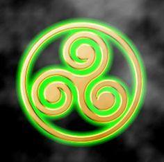 Trisquel símbolo celta