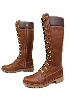 Premium 14 in Zip Lace Waterproof Boots