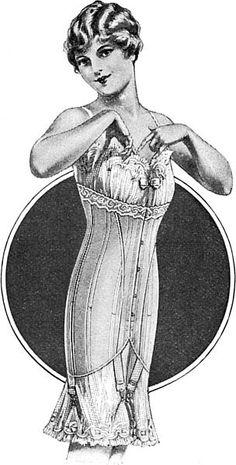 **1917 corset