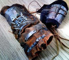 shannara costumes | Raiders Gauntlet and Bracer by ~heartofcinder on deviantART fallout ...
