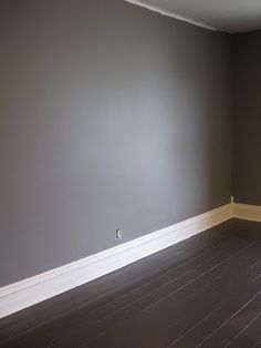 27 Wall Colors with Dark Wood Trim Grey walls & dark wood floors Dream home in 2019 wood floors grey walls 27 Wall Colors with Dark Wood Trim Grey walls & dark wood floors Dream home in 2019 Dark Wood Trim, Dark Wood Floors, Dark Hardwood, Dark Flooring, Wood Walls, Flooring Ideas, Painting Wood Floors, Hardwood Floor, Brown Wood