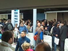 Crowd at Bavaria