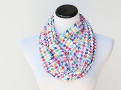 Houndstooth Scarf for Children Boy and Girl Scarf Toddler