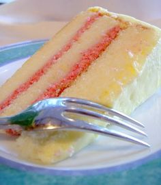 """another piece of cake- this is by far the best """"classic"""" white cake recipe. I can't wait to try the other things on this blog! (We used it for the base of dulche de leche cake.)"""