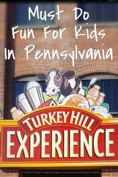 Fun for kids in #Pennsylvania!  Must visit #TurkeyHillExperience The Turkey Hill Experience is AWESOME!  Make sure you sign up for the lab and ice cream making class!  #Delicious #RoadTrip #Travel