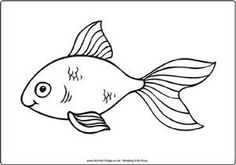 Line Drawing AND Gold Fish - Saferbrowser Yahoo Image Search Results