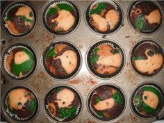 For the redneck in us all some fun hunting season cupcakes.