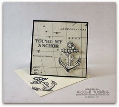 "We love this 3"" x 3"" card made with Guy Greetings."