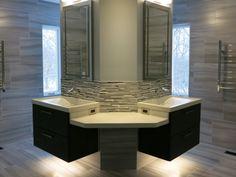 photo 1 : Concrete Sinks and Countertops Washroom, Bathroom Stuff, Concrete Sink, Interior Decorating, Interior Design, Sinks, Countertops, Vanity, Evergreen