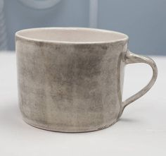 Wonki Ware Mug - Squat Chocolate Covered, Hot Chocolate, Cup Art, China Mugs, Squats, Pottery, Tableware, Handmade, Squat