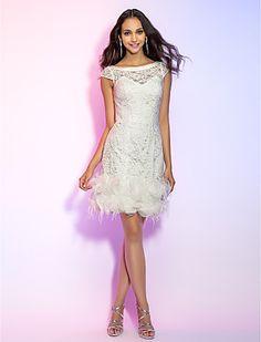 White Part Dress