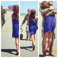 Pictures of True Love - Couples in Love - Redbook Usmc Love, Marine Love, Military Love, Military Homecoming Pictures, Banks, Soldier Love, Military Couples, Military Dating, Military Families