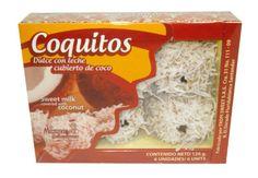 Dulce con leche cubiertos de coco x 6 unidades / Coquitos