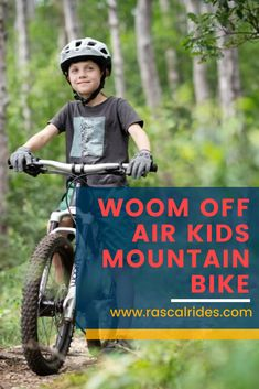 Woom has just launched the new Woom OFF AIR. The bike offers all the great features of the Woom OFF, but also includes an in-house suspension fork. Kids Mountain Bikes, Mountain Biking, Commuter Bike, Kids Ride On, Cycling Workout, Rebounding, Product Launch