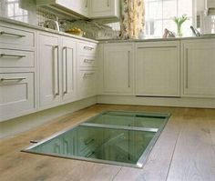 They Noticed A Door In The Floor Of Their Kitchen. I Couldn't Believe What Was Inside Of It.