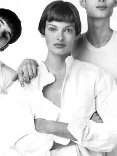 Vogue US, May 1993. Linda Evangelista photographed by Steven Meisel