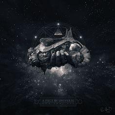 A Piece Of Universe by Pierre-Alain D., via Behance
