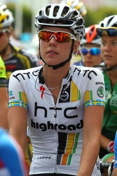 Women cycling.