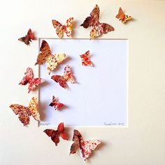 carfa fatta a mano, farfalla, rinascita, leggerezza, dipinta a mano, quadro, design, butterfly,