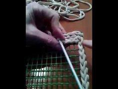 Como crear tapa para bolso de trapillo (versión movil) - YouTube