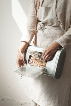 Vasculum - botanist box - collect samples for your herbarium - createad by Arminho Studio - handmade in Portugal visit arminho website and shop for more info