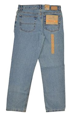 Urban Pipeline Mens Original Denim Relaxed Fit Jeans 33 x 32