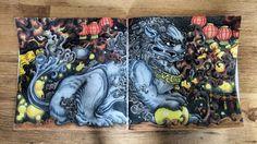 """122 Likes, 25 Comments - Steff (@colouring_mit_steff) on Instagram: """"Ein Wächterlöwe (Shíshî) aus den alten China. Mythomorphia by Kerby Rosanes"""""""