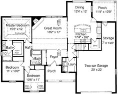 [ Ranch House Plans Walkout Basement Ranch Style House Ranch Style House Floor Plans Walkout Basement Monument Houses ] - Best Free Home Design Idea & Inspiration House Plans One Story, House Plans And More, Small House Plans, Story House, Basement House Plans, Ranch House Plans, House Floor Plans, Walkout Basement, Basement Ideas