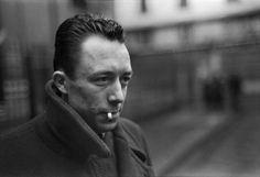 Henri Cartier-Bresson , Albert Camus. Paris (1944)