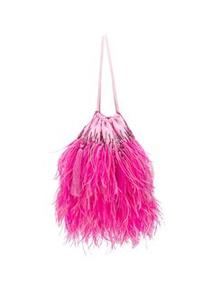 Boutiques, Ostrich Feathers, Leather Mini Skirts, Pink Silk, World Of Fashion, Women Wear, Fashion Design, Resort, Embroidered Bag