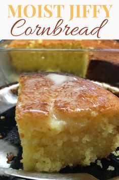 What can I do to make Jiffy Cornbread more moist? It's easy, you can add a few extra ingredients for a delicious and moist cornbread. The easy recipe cooks up a great side dish for any meal. Biscuit Bread, Baking Recipes, Fast Recipes, Jiffy Mix Recipes, Juice Recipes, Salad Recipes, Yummy Recipes, Healthy Recipes, Food Dishes