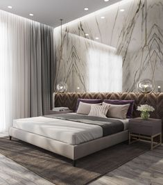 Modern Luxury Bedroom Inspirations - Home Design - lmolnar - Best Design and Decoration You Need Modern Luxury Bedroom, Luxury Bedroom Furniture, Luxury Bedroom Design, Master Bedroom Design, Contemporary Bedroom, Luxurious Bedrooms, Luxury Bedrooms, Bedroom Designs, Luxury Bedding