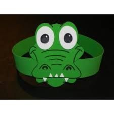 Please visit our website for Animal Projects, Projects For Kids, Diy For Kids, Crafts For Kids, Arts And Crafts, Crocodile Craft, Crocodile Costume, Alphabet Letter Crafts, Archaeology For Kids
