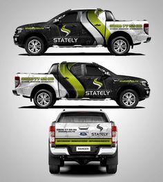 Stately truck wrap zzz wrap vehicle signage, van wrap и car Ford Ranger, 4x4 Trucks, Ford Trucks, Vehicle Signage, Vehicle Branding, Car Signs, Van Wrap, Toyota Hilux, Car Brands