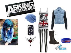 """""""Asking Alexandria Outfit"""" by lizzie2261 on Polyvore"""