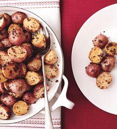 Mustard Roasted Potatoes: Recipe: bonappetit.com