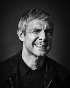 Martin Freeman  by Andy Gotts