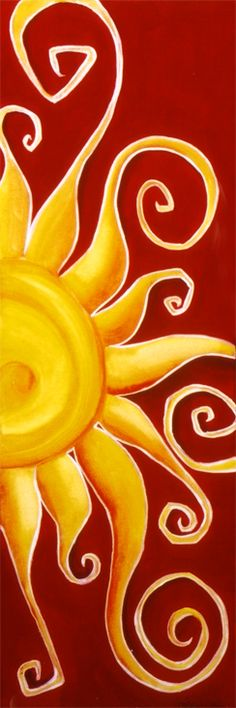 """Etu II"" -Sun Painting"