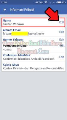 Cara Mengganti Nama Di Fb : mengganti, Merubah, Mengganti, Profil, Facebook, Android, Ganti, Nama,, Aplikasi,