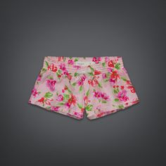 Womens Floral Sleep Shorts   Womens Clothing   GillyHicks.com