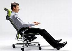 In the 1970s, ergonomics became a significant design consideration. In the present day, office chairs regularly have adjustable seats, backs, armrests, lower back supports, and heights to avoid cyclical stress injury and back pain related with sitting for lengthy periods. Ergonomic chairs fit person's requirements and give support where the person needs it. #ergonomicofficechairstylish