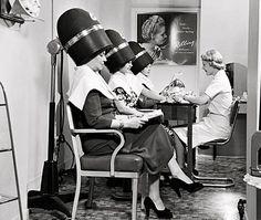 110 Old Style Beauty Salons Ideas