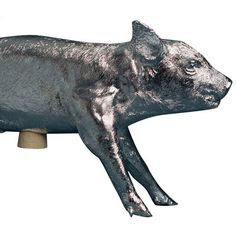 Areaware Reality Bank in the Form of a Pig Piggy Bank Finish: Chrome