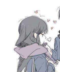 nam x nữ Anime Couples Drawings, Couple Drawings, Cute Anime Couples, Love Cartoon Couple, Anime Love Couple, Tof De Profil, Cute Couple Wallpaper, Creepy, Matching Profile Pictures