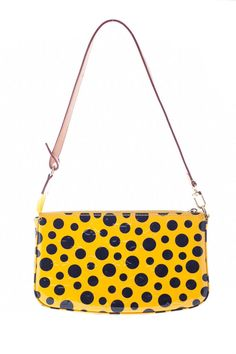 This Louis Vuitton Yellow Patent Leather Yayoi Kusama Pochette Bag is now available on our website for $800.00. Check out our full collection of authentic Louis Vuitton items at http://cashinmybag.com/page/1/?s=louis+vuitton&post_type=product. Our bags do sell quickly. But don't worry, new items are listed daily.